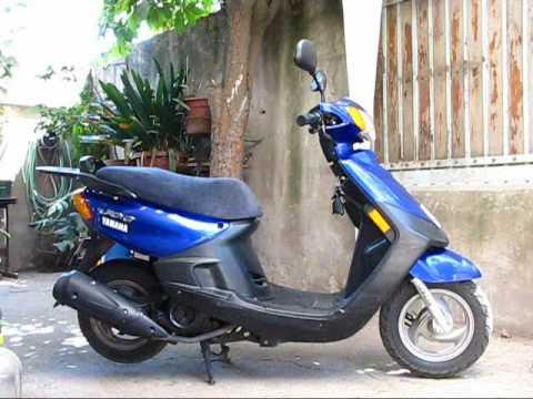 moto scooter yamaha jog xc100