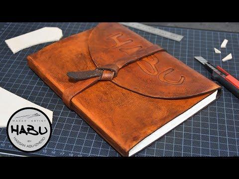 DIY \\ Leather SketchBook