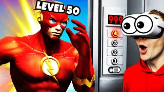 UPGRADING THE FLASH With VR ELEVATOR