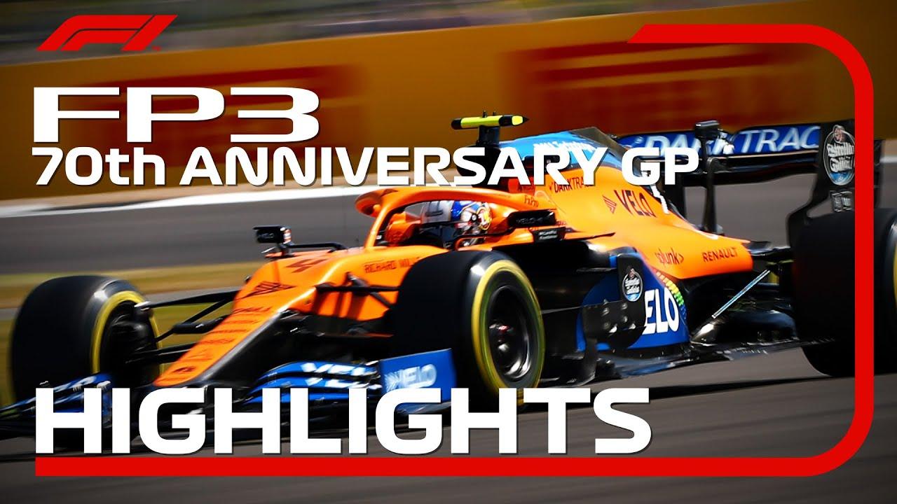 70th Anniversary Grand Prix: FP3 Highlights
