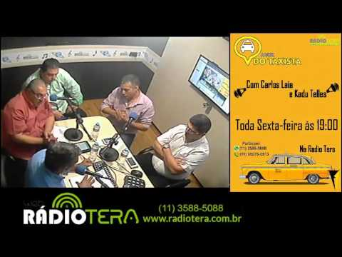 Programa: A Voz do Taxista AO VIVO - 19/02/2016