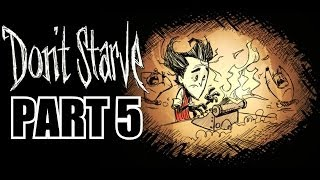 Don't Starve PS4 Gameplay Part 5 - Tracking Beasts - With Commentary - 1080P