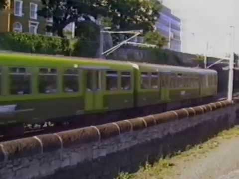 Dublin DART Trains In August 1989