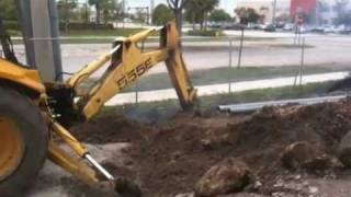 ARC FLASH-Backhoe vs 13200 volts!