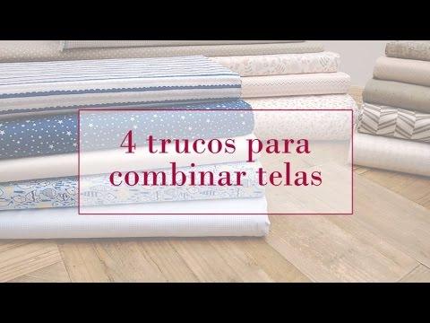 4 trucos para combinar telas | Tutoriales patchwork