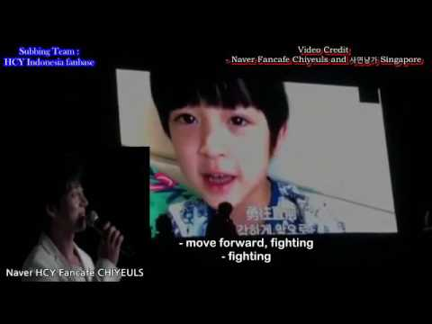 Eng Sub Hwang Chi Yeul and YH exchange Video Message 210117 malaysia FM