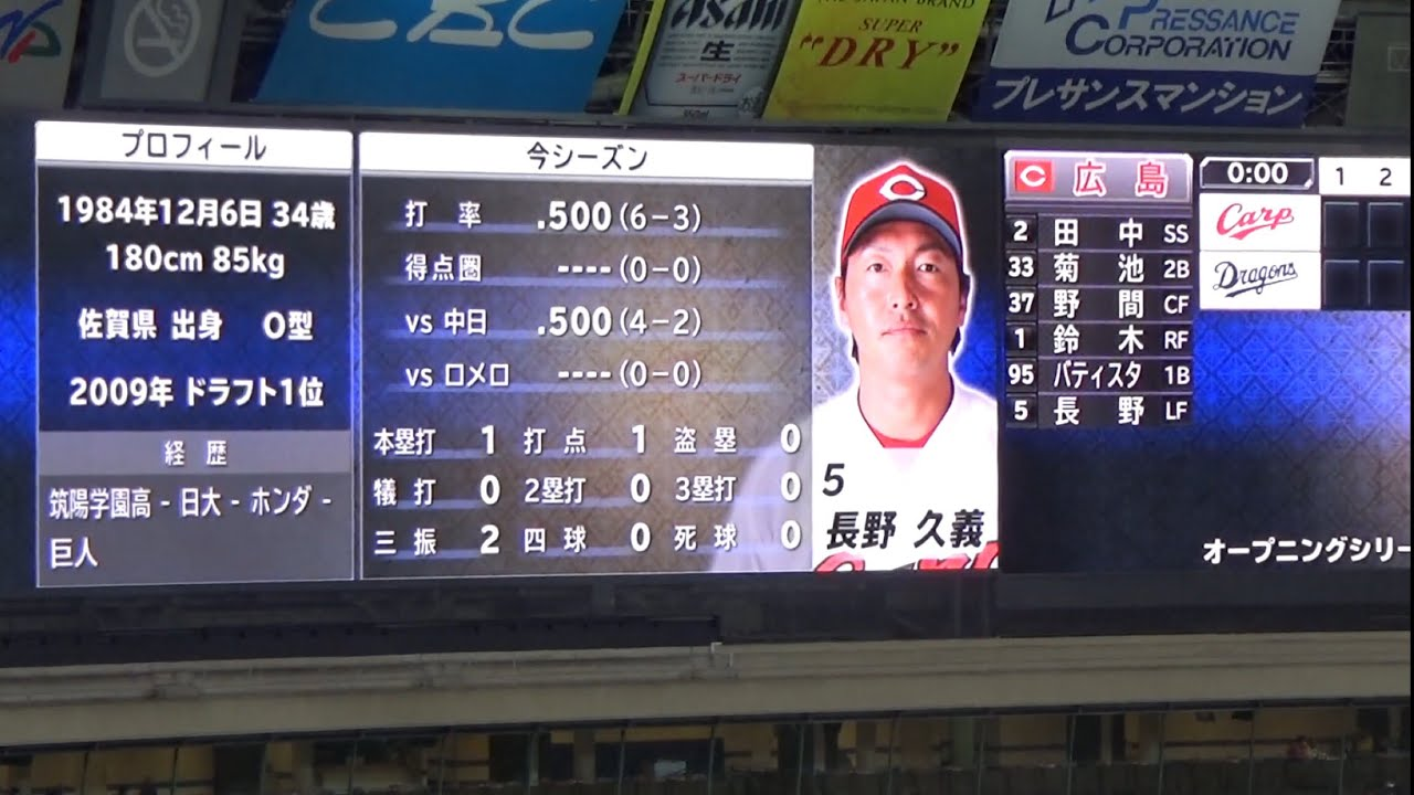 年8月2日 広島カープ スタメン - プロ野球応援 …