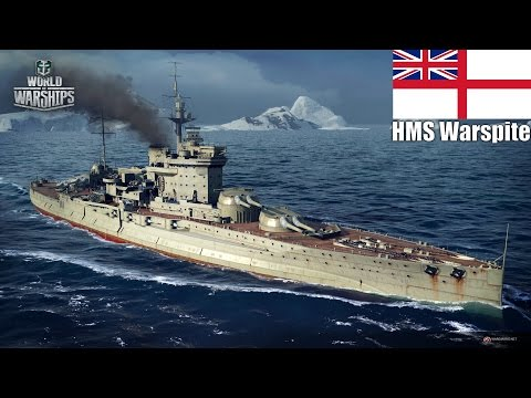 Wold of Warships - HMS Warspite - British Grit.