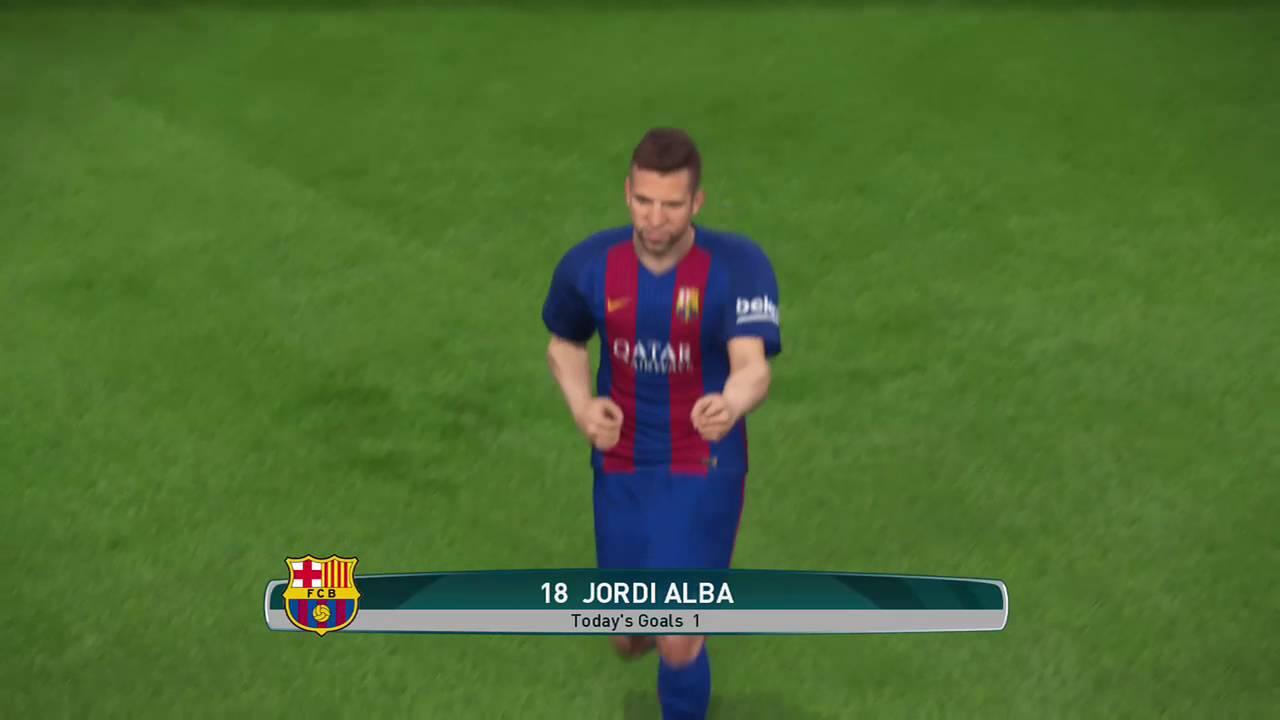 PES 17 DEMO Why We All Love JORDI ALBA