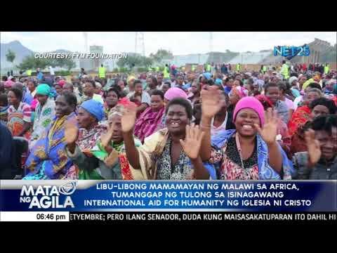 Libo-libong mamamayan ng Malawi sa  Africa, tumanggap ng tulong mula sa Iglesia Ni Cristo