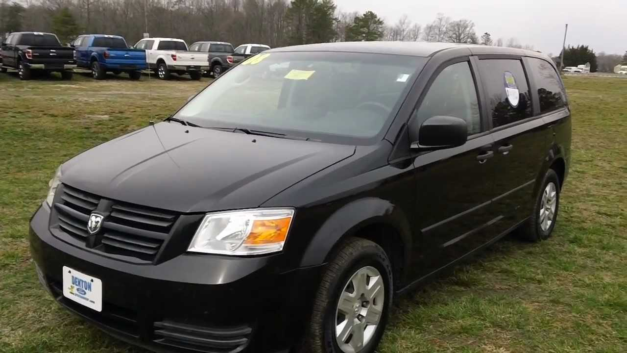 Dodge Caravan For Sale >> Used Car for Sale Maryland 2008 Dodge Caravan SE Great Family Vehicle - YouTube