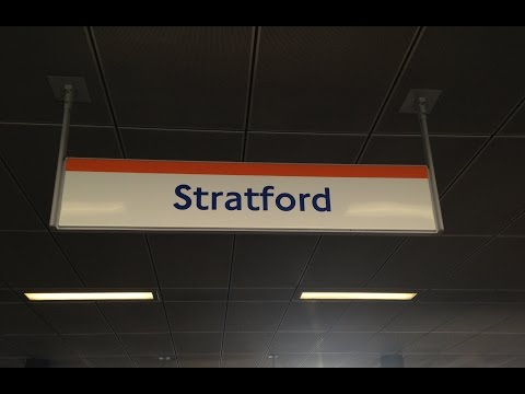 Full Journey on London Overground from Stratford to Richmond
