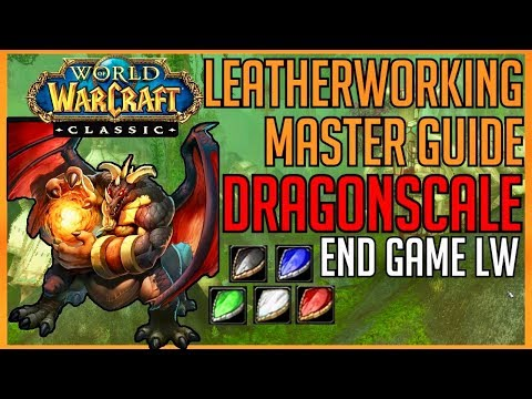 Classic Vanilla WoW Professions | Dragonscale Leatherworking: Master Guide Leatherworking