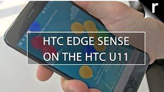 HTC U11 Edge Sense: We test the U11's squeezy shortcuts