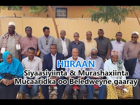 Hiiraan: Murashaxiinta Mucaaridka oo gaaray Beledweyne