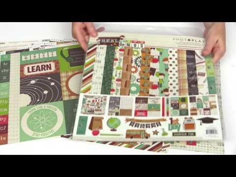 PhotoPlay Paper - Real Genius Collection