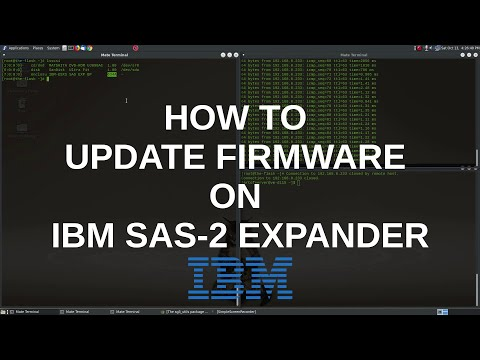 How To Update Firmware Of IBM SAS Expander 46M0997 In A Non-IBM System