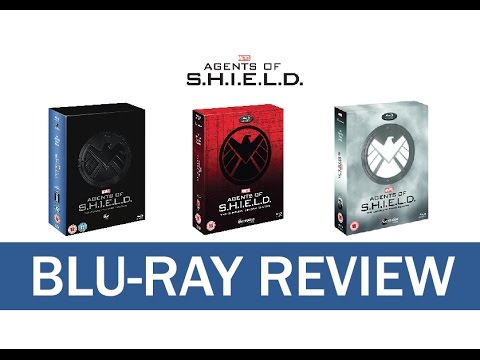 Marvel's Agents of S.H.I.E.L.D. (Limited Edition Digipacks) Review - Seasons 1-3 Blu-Ray