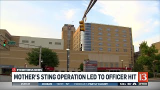 New details about officer hit at Methodist Hospital