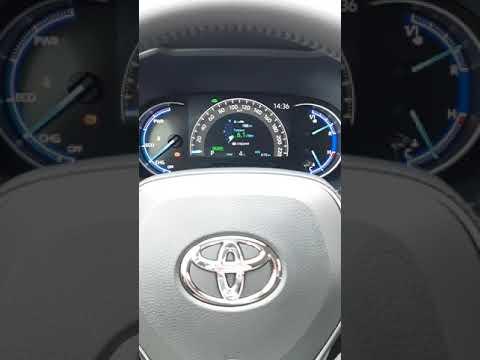 Toyota Rav4 hybrid 2019 Тойота Рав4 гибрид 2019 реалный расход топлива