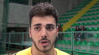 04-11-2017: #A2MVolley - Leo Battista nel post Materdomini - Alessano 3-1
