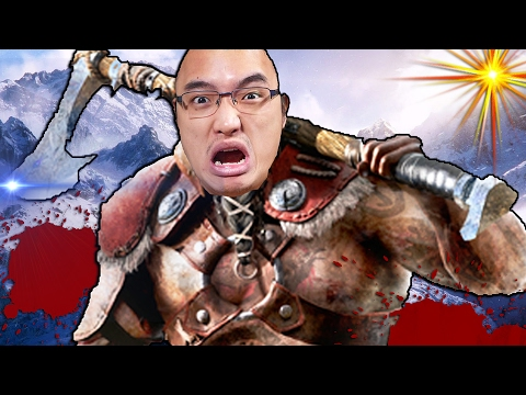 VIKINGS CRAZY EN MAUDITO !   For Honor Campagne #4