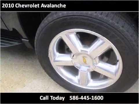 2010 Chevrolet Avalanche Used Cars Roseville Mi Youtube