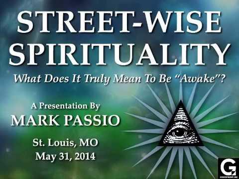 Mark Passio Street Wise Spirituality Seminar Deutsch