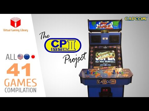 The CAPCOM Play System Project - All 41 CPS2 Games - Every Game (US/EU/JP)