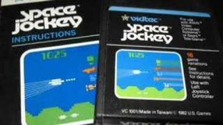 Classic Game Room - SPACE JOCKEY review for Atari 2600