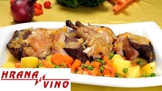 Mešano pečenje sa prelivom | Hrana i Vino