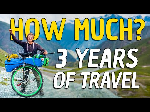 How Much Does it Cost to Travel The World? [3 YEARS]