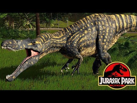 InGen's List: The Suchomimus Of Jurassic World
