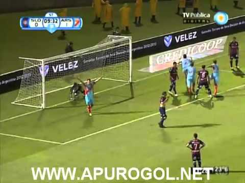 San Lorenzo vs Arsenal (0-3) Copa Argentina 2013 FINAL - Catamarca