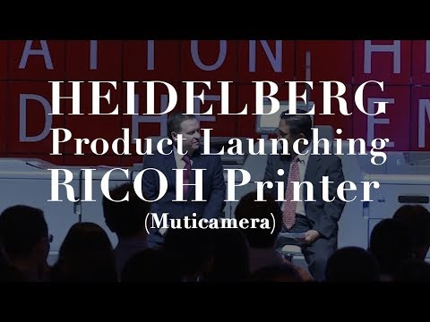 Event Documentation - HEIDELBERG LAUNCHING Ricoh Printer