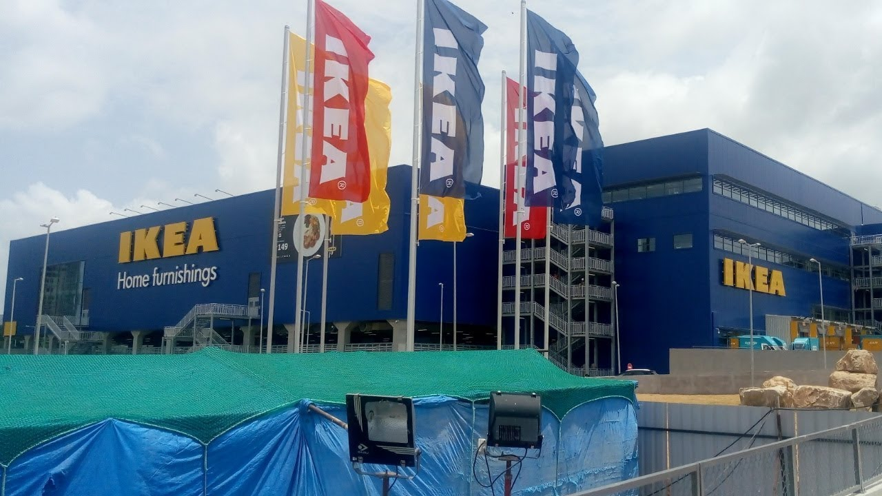 Ikea Home Furnishings Store Inside View Ikea First India Store At