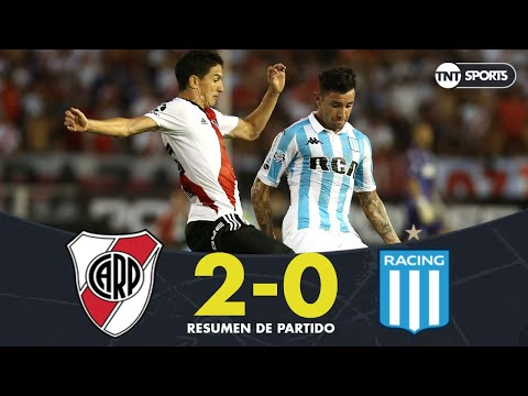 Resumen de River Plate vs Racing (2-0) | Fecha 18 - Superliga Argentina 2018/2019