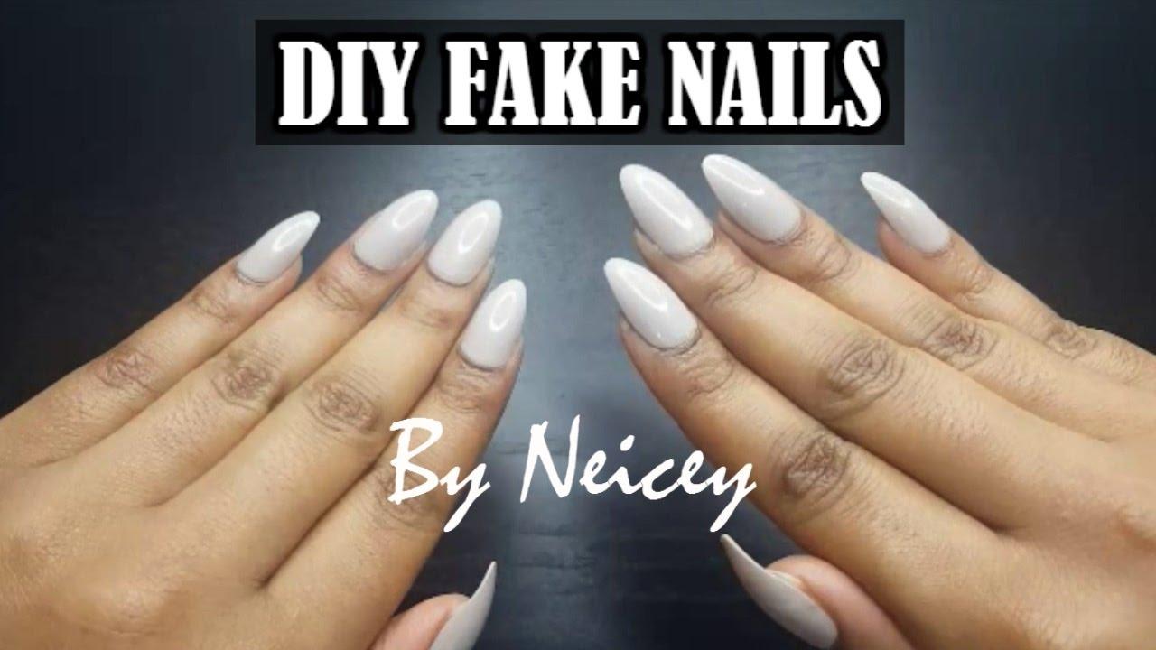 Diy Fake Nails At Home Testing Primark Fake Nails