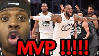 LEBRON ALL STAR MVP Cavs Fan REACTION !!!! Team Lebron vs Team Stephen NBA All Star 2018
