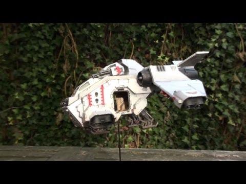How to make a flyer base? Warhammer 40k