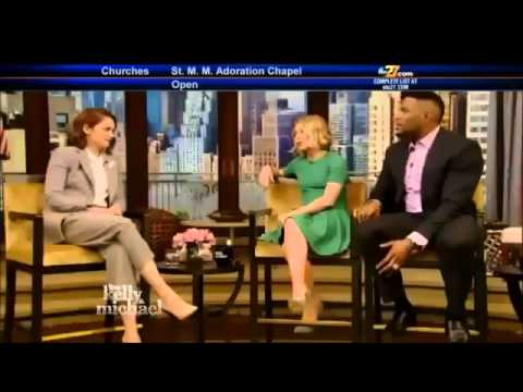 "RUTH WILSON  Live! With Kelly and Michael movie ""The Affair"""