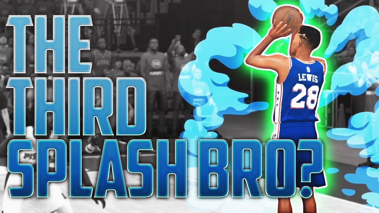 the-third-splash-bro-raining-3-s-in-the-playoffs-nba-2k18-mycareer