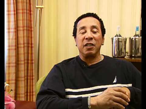 Smokey Robinson on his lifetime achievement award from Q Magazine