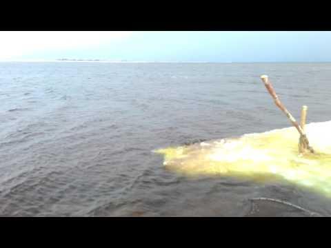 видео: Сломало лёд, унесло мерёжи, какие успели спасли!!!