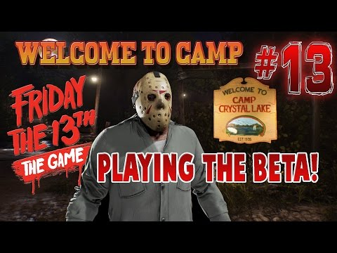 Friday the 13th: The Game | Most Horrifying Multiplayer Experience! LIVE