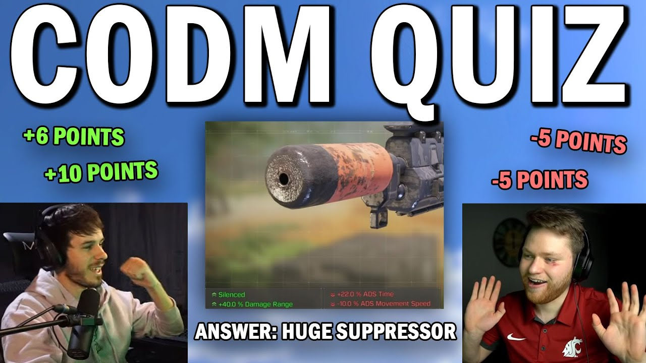 The COD Mobile Quiz... 😳