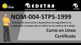 NOM-004-STPS-1999 /INTERPRETACIÓN / CURSO EN LÍNEA
