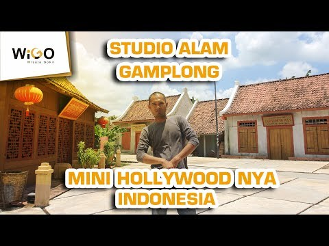 MAIN KE STUDIO ALAM GAMPLONG | Mini Hollywoodnya Indonesia