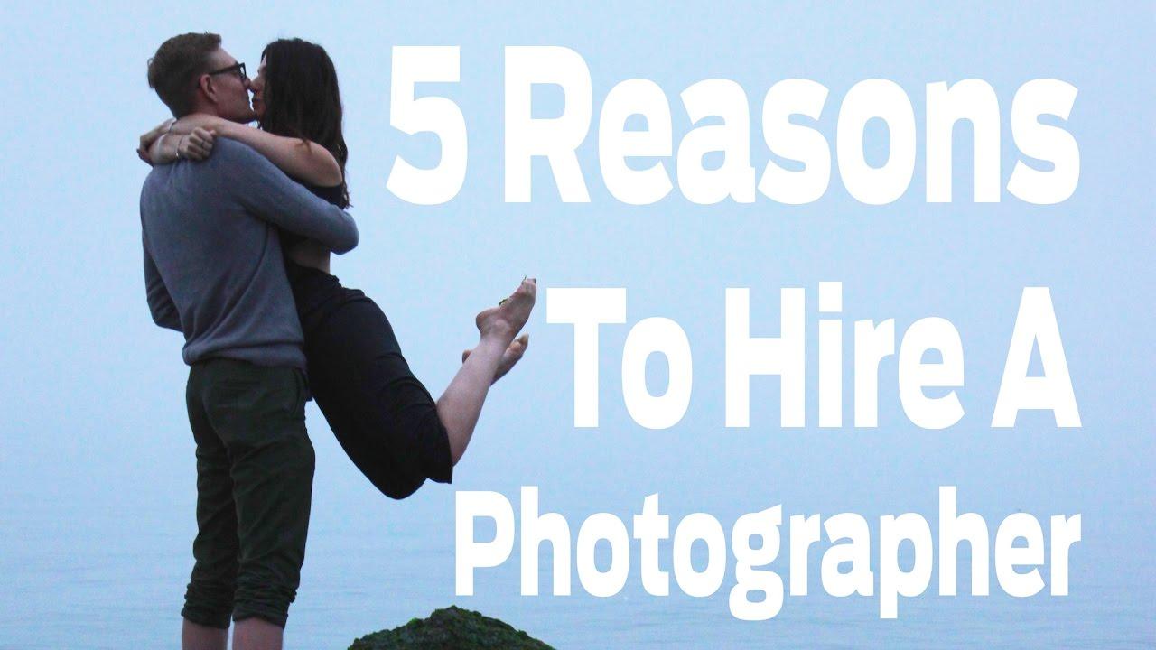 5 Reasons to Hire a Photographer | Caron Modern Media