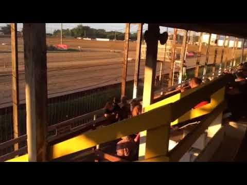 Sean Boyce heat 2 Charleston Speedway 7/12/17